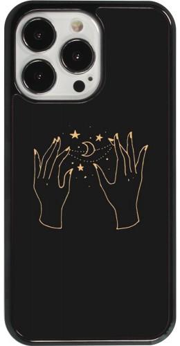 Coque iPhone 13 Pro - Grey magic hands