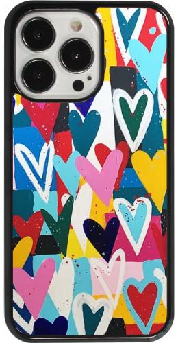 Coque iPhone 13 Pro - Joyful Hearts