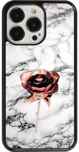Coque iPhone 13 Pro - Marble Rose Gold