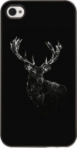 Coque iPhone 4/4s - Abstract deer