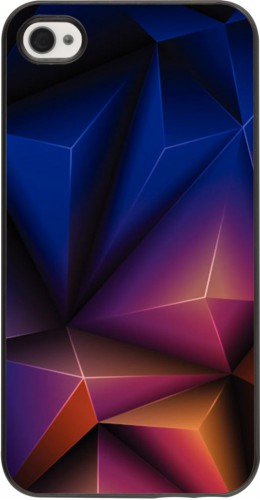 Coque iPhone 4/4s - Abstract triangles