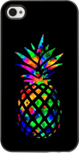 Coque iPhone 4/4s - Ananas Multi-colors
