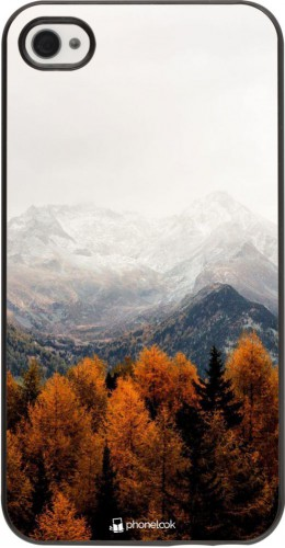 Coque iPhone 4/4s - Autumn 21 Forest Mountain