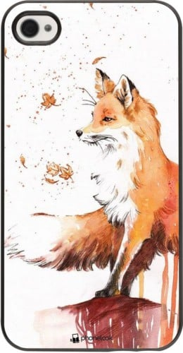 Coque iPhone 4/4s - Autumn 21 Fox