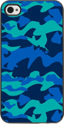 Coque iPhone 4/4s - Camo Blue