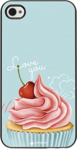 Coque iPhone 4/4s - Cupcake Love You