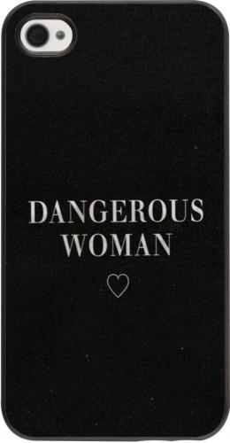 Coque iPhone 4/4s - Dangerous woman