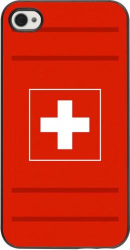 Coque iPhone 4/4s - Euro 2020 Switzerland