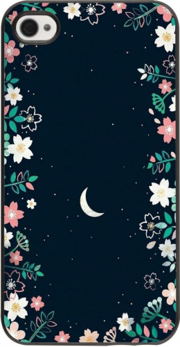 Coque iPhone 4/4s - Flowers space
