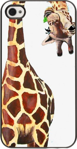 Coque iPhone 4/4s - Giraffe Fit