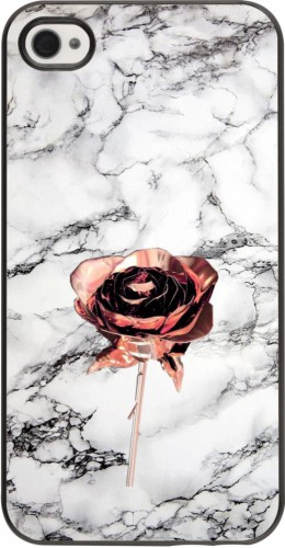 Coque iPhone 4/4s - Marble Rose Gold