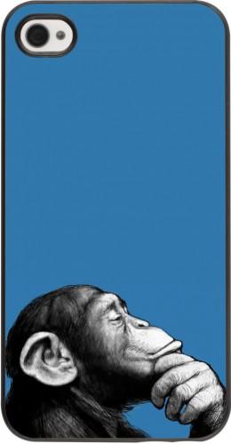 Coque iPhone 4/4s - Monkey Pop Art