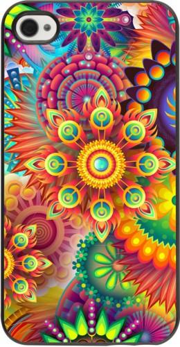 Coque iPhone 4/4s - Multicolor aztec