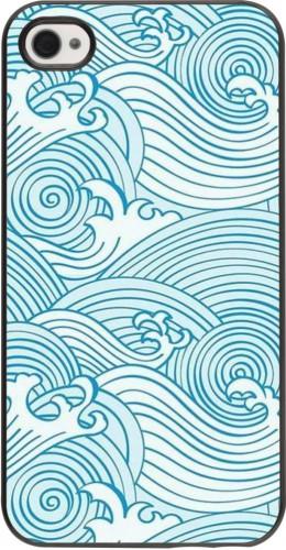 Coque iPhone 4/4s - Ocean Waves