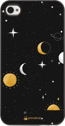 Coque iPhone 4/4s - Space Vector