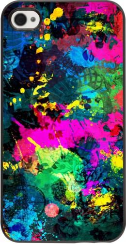 Coque iPhone 4/4s - splash paint