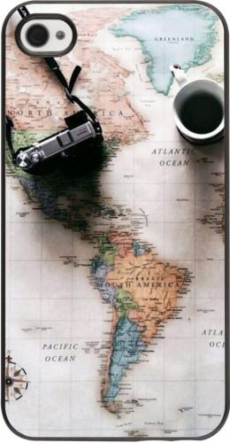 Coque iPhone 4/4s - Travel 01