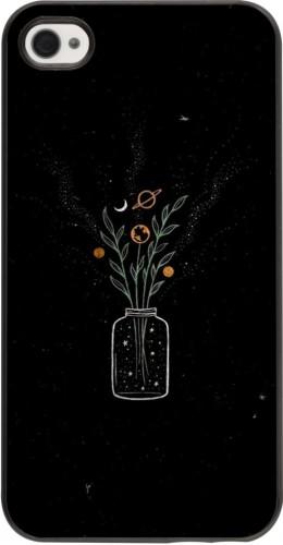 Coque iPhone 4/4s - Vase black