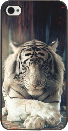 Coque iPhone 4/4s - Zen Tiger