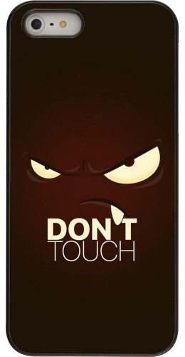 Coque iPhone 5/5s / SE (2016) - Angry Dont Touch