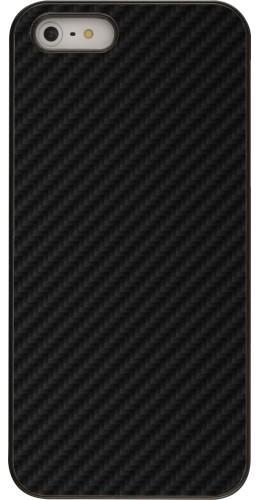 Coque iPhone 5/5s / SE (2016) - Carbon Basic
