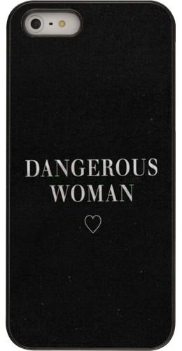 Coque iPhone 5/5s/SE - Dangerous woman
