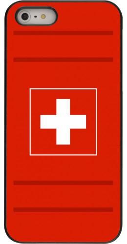 Coque iPhone 5/5s / SE (2016) - Euro 2020 Switzerland