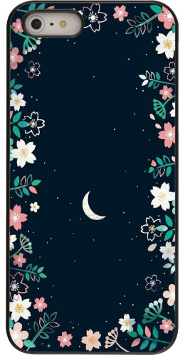 Coque iPhone 5/5s/SE - Flowers space