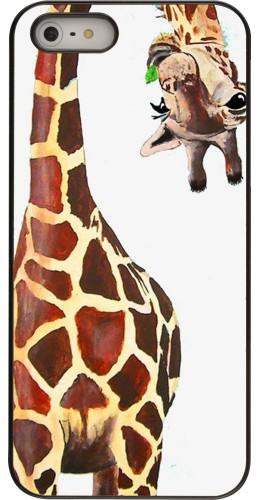 Coque iPhone 5/5s / SE (2016) - Giraffe Fit