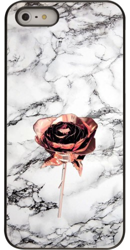 Coque iPhone 5/5s / SE (2016) - Marble Rose Gold