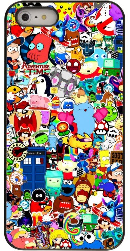 Coque iPhone 5/5s/SE - Mixed cartoons