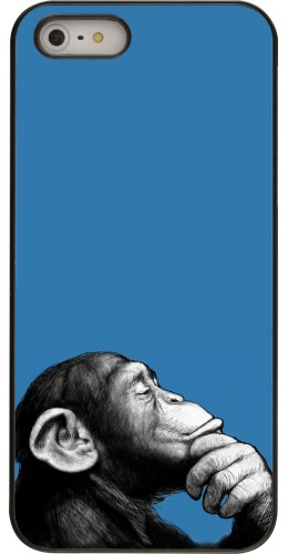 Coque iPhone 5/5s/SE - Monkey Pop Art