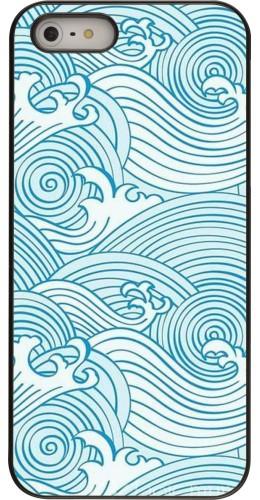 Coque iPhone 5/5s / SE (2016) - Ocean Waves