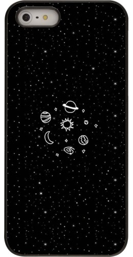 Coque iPhone 5/5s/SE - Space Doodle