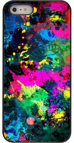 Coque iPhone 5/5s / SE (2016) - splash paint