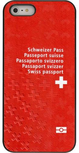 Coque iPhone 5/5s/SE -  Swiss Passport