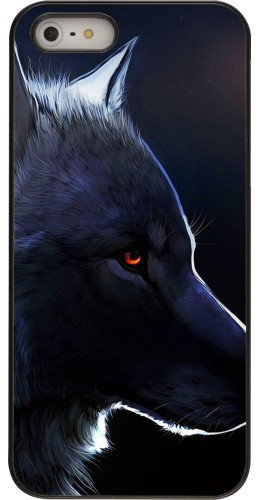 Coque iPhone 5/5s / SE (2016) -  Wolf Shape