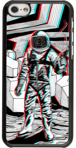 Coque iPhone 5c - Anaglyph Astronaut