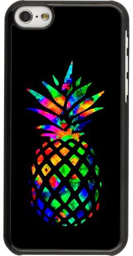 Coque iPhone 5c - Ananas Multi-colors
