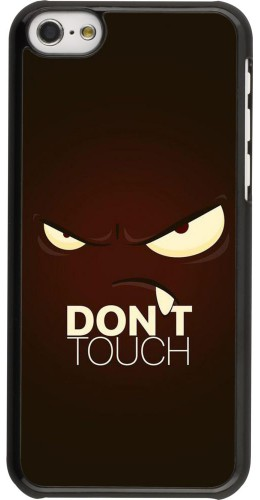 Coque iPhone 5c - Angry Dont Touch