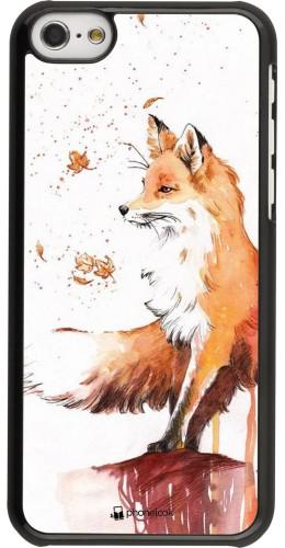 Coque iPhone 5c - Autumn 21 Fox
