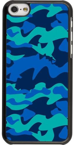 Coque iPhone 5c - Camo Blue