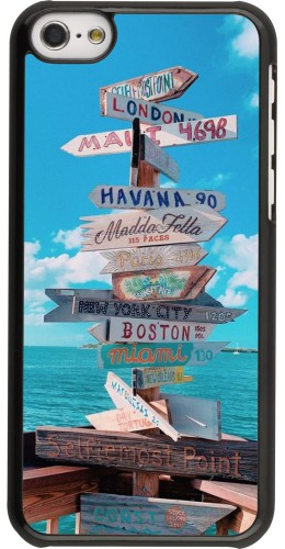 Coque iPhone 5c - Cool Cities Directions