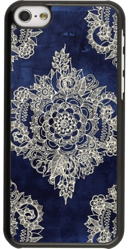 Coque iPhone 5c - Cream Flower Moroccan