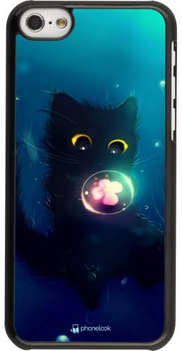 Coque iPhone 5c - Cute Cat Bubble
