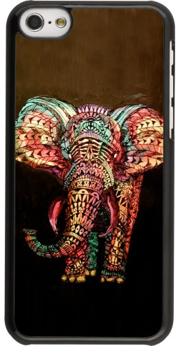 Coque iPhone 5c -  Elephant 02