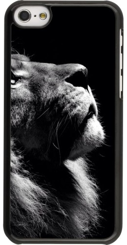 Coque iPhone 5c - Lion looking up