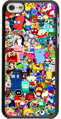 Coque iPhone 5c - Mixed cartoons