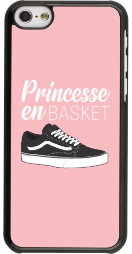 Coque iPhone 5c - princesse en basket