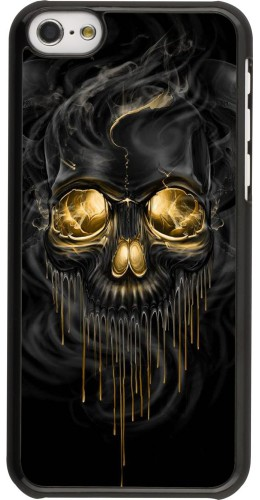 Coque iPhone 5c -  Skull 02